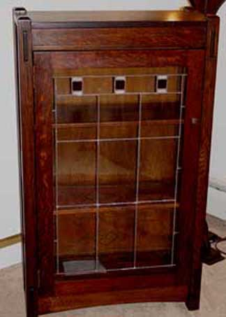 Bookcases and cabinets for Arts and crafts bookshelf