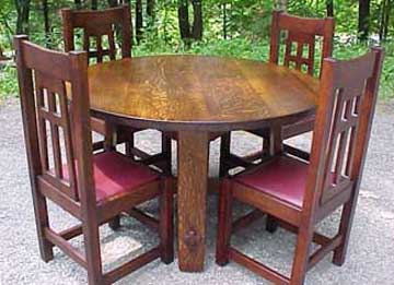 Mission Round Table.Mission Round Dining Table Dining Room Ideas